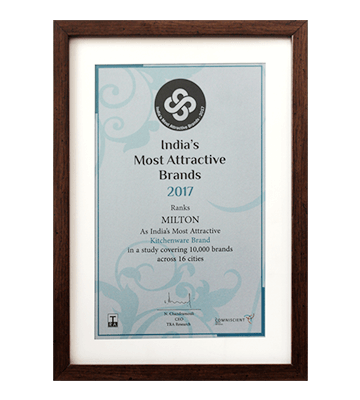 India Most Attractive Brands Trophy